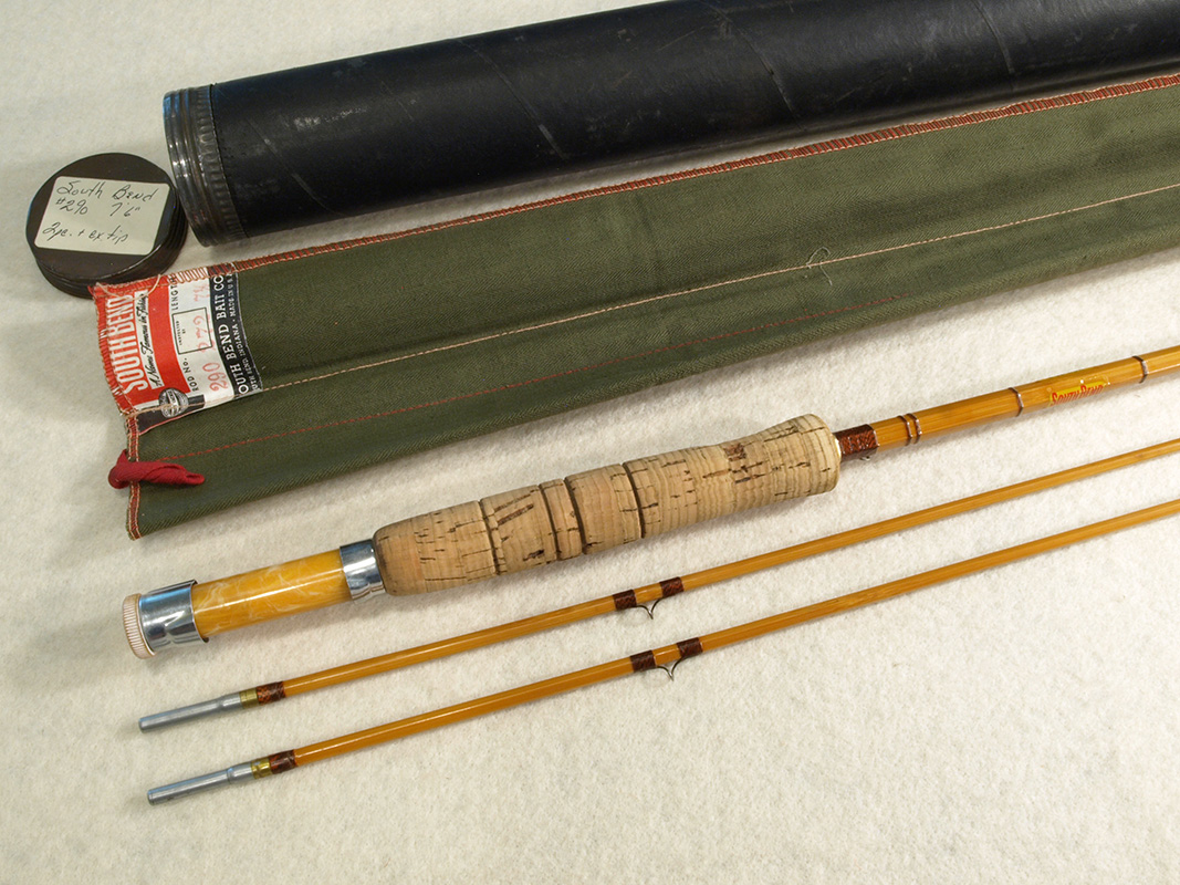 South Bend 290 7 6 Quot Bamboo Fly Rod Classic Flyfishing Tackle