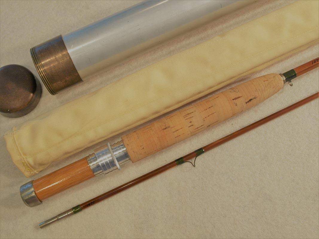 H L Leonard Duracane Bamboo Fly Rod 7 6 Classic