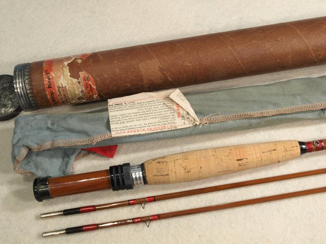Heddon 7 Model 14 Bamboo Fly Rod Classic Flyfishing Tackle