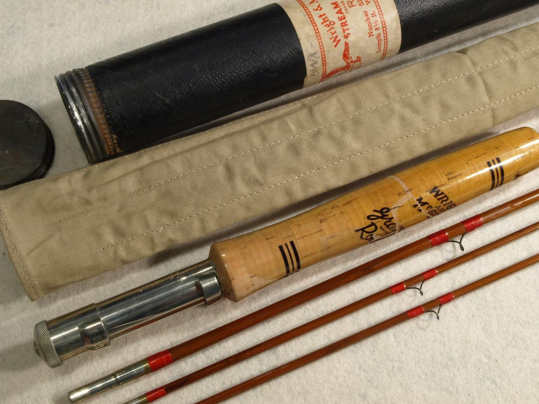Wright And Mcgill Stream And Lake Bamboo Fly Rod Unused